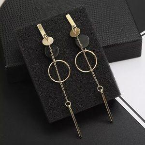 Fashion Gold Long Earrings